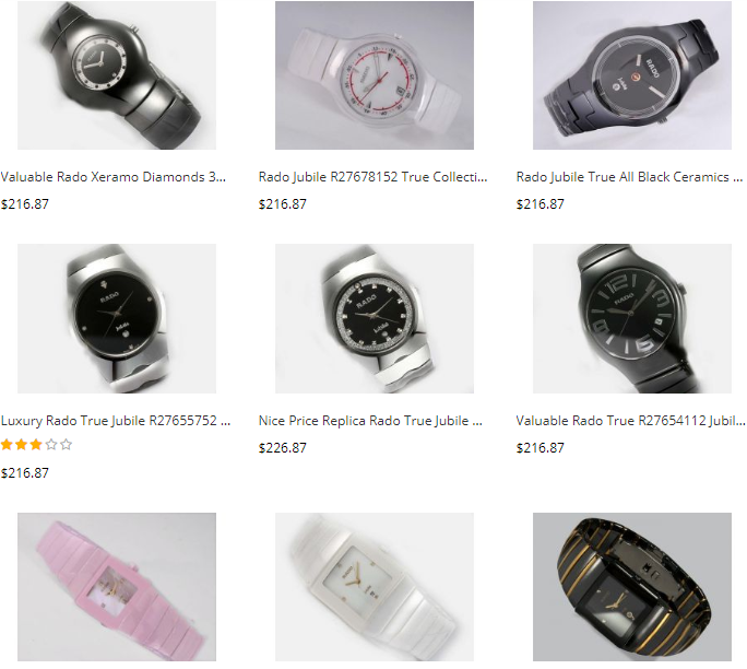 replica rado watches wholesale