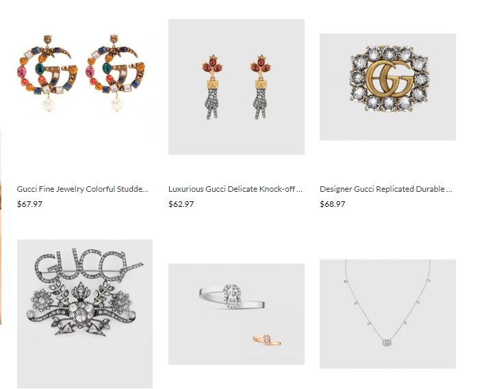 gucci replica jewelry wholesale