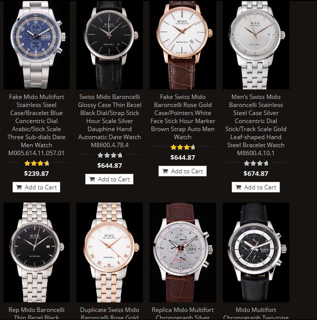 replica mido watches wholesale