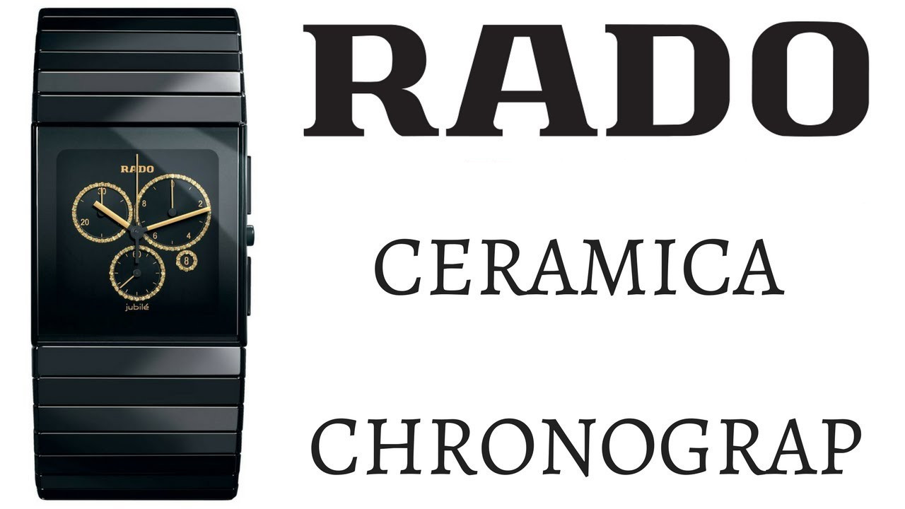 Rado Replica XL Chronograph watch price info